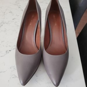 Cole Haan grey heels